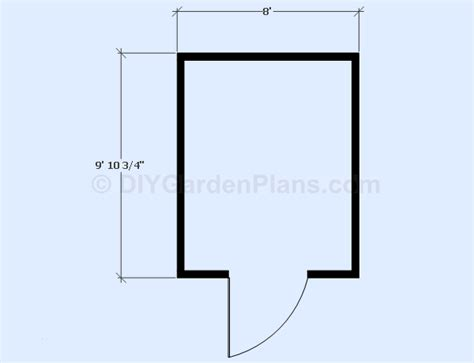 yia free free 8 x 12 gable shed plans