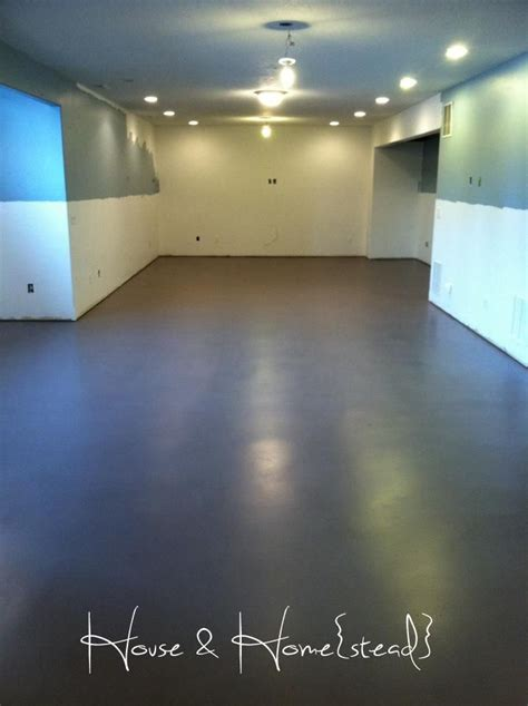 house  homestead basement floors basement flooring