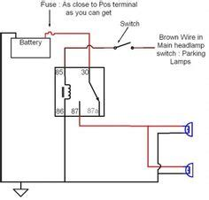 Auxilary Light Wiring Diagram Vehicle by Automotive Wiring Diagram Isuzu Wiring Diagram For Isuzu