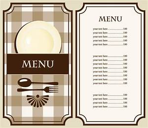 set of cafe and restaurant menu cover template vector 02 With cafe menu design template free download