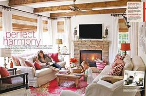 Cozy Family Home Interiors By Color