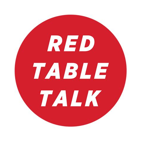Red Table Talk  Home Facebook