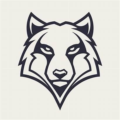 Wolf Vector Mascot Icon Head Illustration Vectors