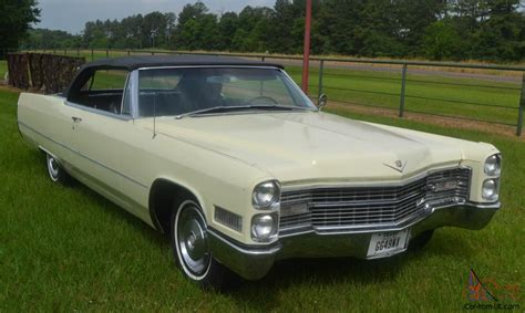 Cadillac Deville Convertible Well Preserved