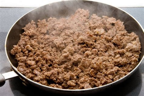 meals cooked with ground beef sauteed ground beef and pork popsugar food