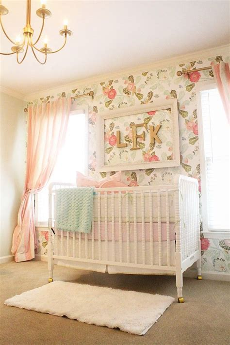 motif chambre fille 10 baby nursery ideas
