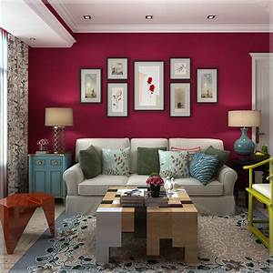 Bedroom living room background wall solid textures plain ...