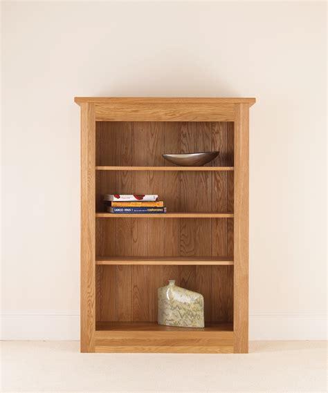 Solid Oak Bookcase by Quercus Solid Oak Bookcase 54 38 12 Con Tempo Furniture