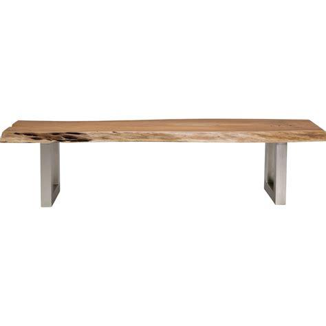 banc en bois nature line kare design