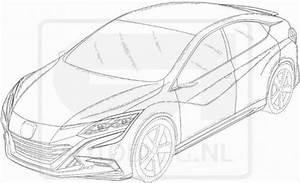 New Honda patent drawings leak China only Civic?