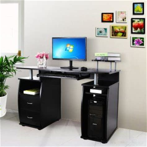 ran pour ordinateur de bureau songmics bureau informatique table informatique meuble