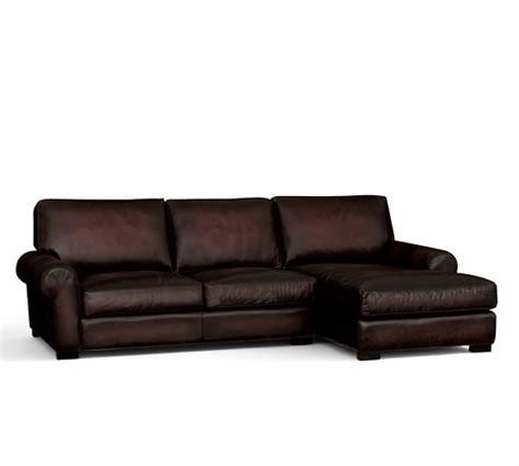 Pottery Barn Turner Roll Sofa by Pottery Barn Leather Sofas Sectionals Chairs 15 Sale