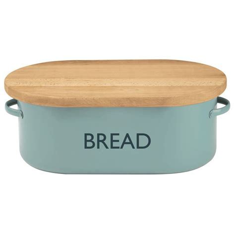 Cute bread box with cutting board on top! Awesome idea