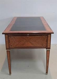 Bureau De Style : bureau de style louis xvi en marqueterie xixe antiquites lecomte ~ Teatrodelosmanantiales.com Idées de Décoration
