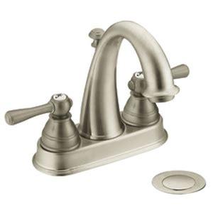 moen 6121bn kingsley two handle centerset lavatory faucet