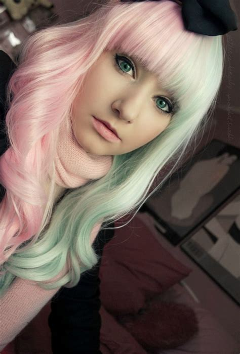 Best 25 Mint Hair Color Ideas On Pinterest Pravana Hair