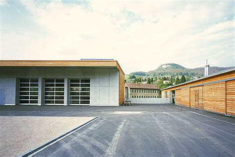 Werkhof In Sissach by Neubau Werkhof Sissach Flubacher Nyfeler Partner