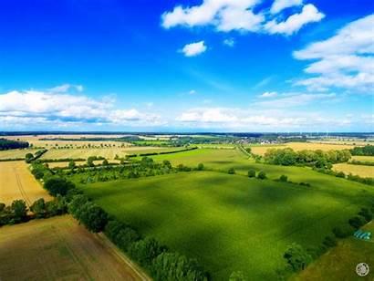 Campagne Drone Vue Par Ciel Provence Agriculture