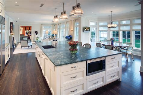 transitional dining room large open concept kitchen for contemporary kitchen with