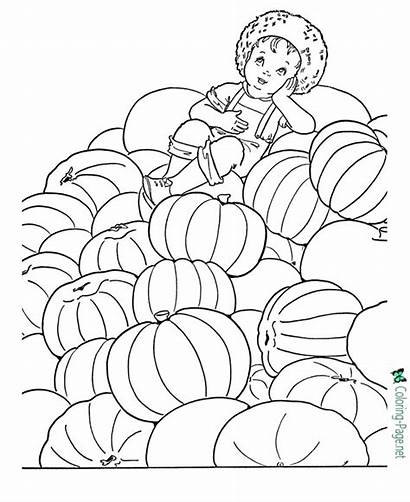 Autumn Coloring Pages Printable Sheet