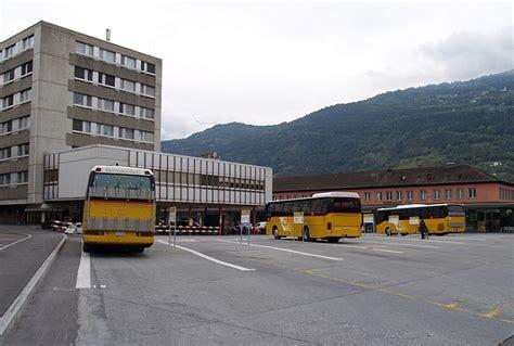 bureau des autos sion place de la gare avant été 2010