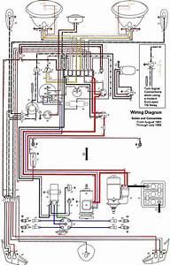 1969-71 Beetle Wiring Diagram