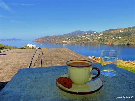 Παράγγειλε online εύκολα και γρήγορα από το σπίτι τον αγαπημένο σου καφέ! Have a very nice day! Greek coffee overlooking the Aegean ...