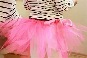 Kinderkostüme Selber Nähen : kids diy ballerina tutu ohne n hen selber machen ~ Lizthompson.info Haus und Dekorationen