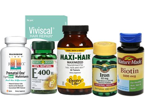 Hair Loss Vitamins & Nutrition