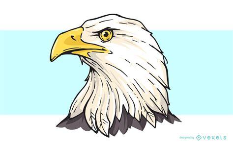 Bald Eagle Head Cartoon