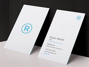 Beautiful minimalist business cards design for Minimalistic business cards