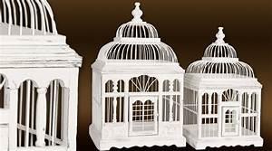 Cage Oiseau Deco : cage oiseau bois deco visuel 2 ~ Teatrodelosmanantiales.com Idées de Décoration