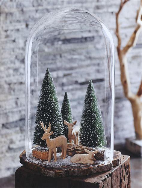 decor glass magical winter wonderland decorative glass dome with christmas trees nova68 com