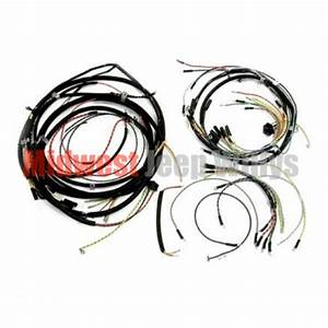 Jeep Part 925159 Complete Cloth Covered Wiring Harness Kit