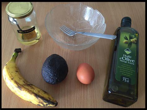 recette de masque hydratant fait maison pour cheveux