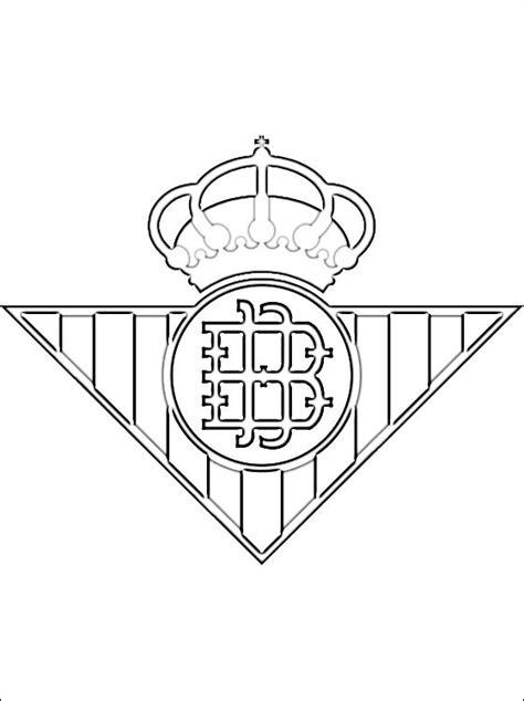 Kleurplaat Spaanse Vlag by Kleurplaten Real Betis Logo Gratis Kleurplaten