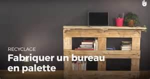 Fabriquer Bureau En Palette by Fabriquer Un Bureau En Palette Recycler Youtube