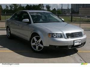 Audi A4 2003 : 2003 audi a4 1 8t quattro sedan in light silver metallic 365983 auto j ger german cars for ~ Medecine-chirurgie-esthetiques.com Avis de Voitures