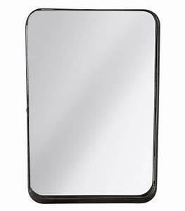 Miroir Metal Noir : miroir et glace miroir design miroir en ligne ~ Teatrodelosmanantiales.com Idées de Décoration