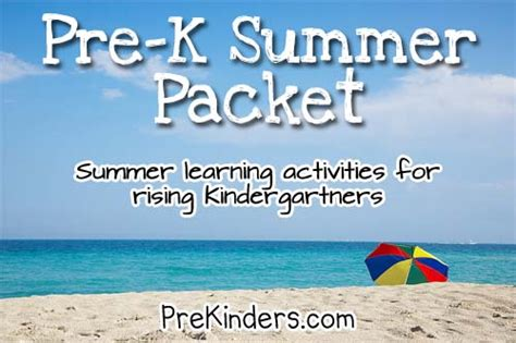 7 Best Images Of Free Printable Preschool Summer Packets  Prek Summer Packet, Kindergarten