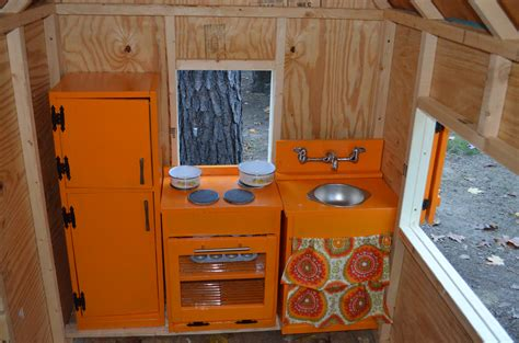 Ana White  Liv's Playhouse Kitchen  Diy Projects