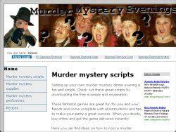 Murder Mystery Scripts