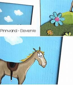 Kork Pinnwand Ohne Rahmen : diy pinnwand f r kleine pferdefans fusselideen ~ Michelbontemps.com Haus und Dekorationen