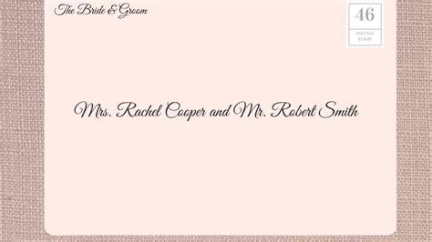address wedding invitations southern living