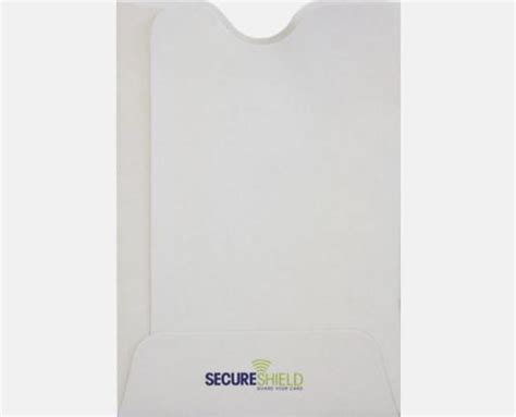 credit card sleeve template rfid blocking credit card sleeve 2 3 8 x 3 1 2 32lb