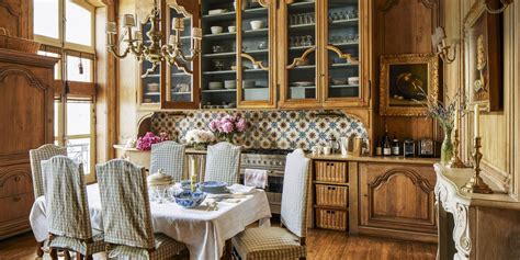 french country style interiors rooms  french country