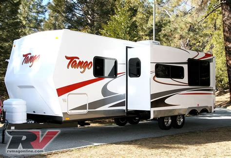 Tango Travel Trailer  Features  Rv Magazine