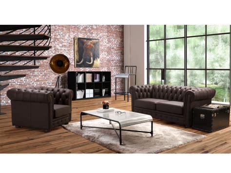 fauteuil de bureau cuir blanc canapé 3 places ou 1 place cuir choco crème chesterfield