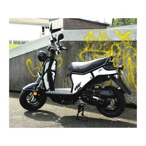 4t motocross gear scooter imf ptio 50cc 4t black white