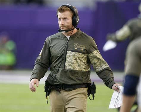 Rams Mcvay Sean Mcvay I Don T Think It S Fair To Put Me In The Same